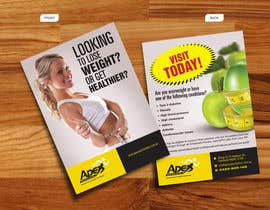 #16 para Design a small flyer for weight loss to leave at shop counters por decorusads