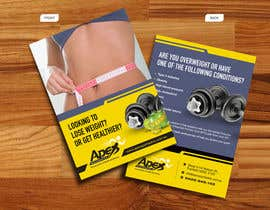 #30 para Design a small flyer for weight loss to leave at shop counters por decorusads