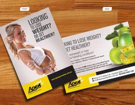 #40 para Design a small flyer for weight loss to leave at shop counters por decorusads