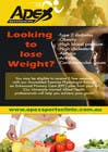 Graphic Design Inscrição do Concurso Nº3 para Design a small flyer for weight loss to leave at shop counters