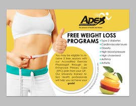 #14 para Design a small flyer for weight loss to leave at shop counters por gdinfinity