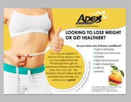 design a small flyer for weight loss to leave at shop counters