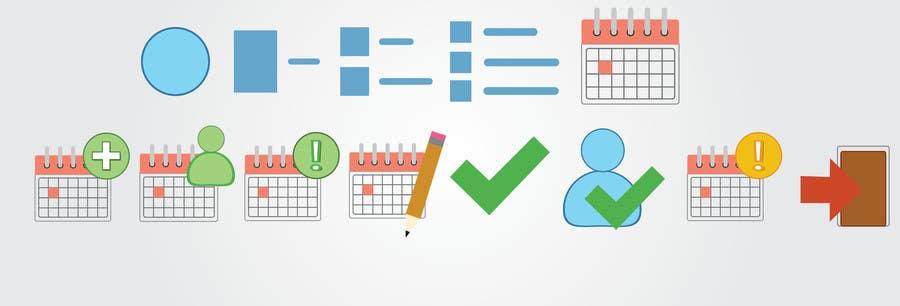 Konkurrenceindlæg #3 for Design existing Icons to svg