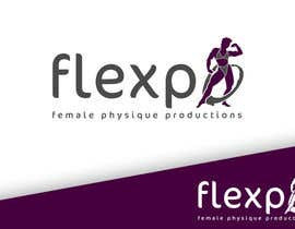 #101 untuk Logo Design for Flexpo Productions - Feminine Muscular Athletes oleh vhegz218
