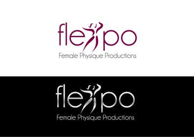 #66 untuk Logo Design for Flexpo Productions - Feminine Muscular Athletes oleh paxslg