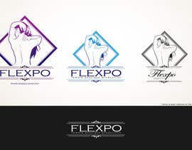 #122 untuk Logo Design for Flexpo Productions - Feminine Muscular Athletes oleh Glukowze