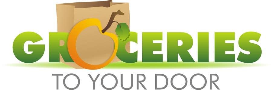 Entri Kontes #163 untukLogo Design for Groceries To Your Door