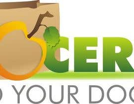 #163 dla Logo Design for Groceries To Your Door przez doarnora