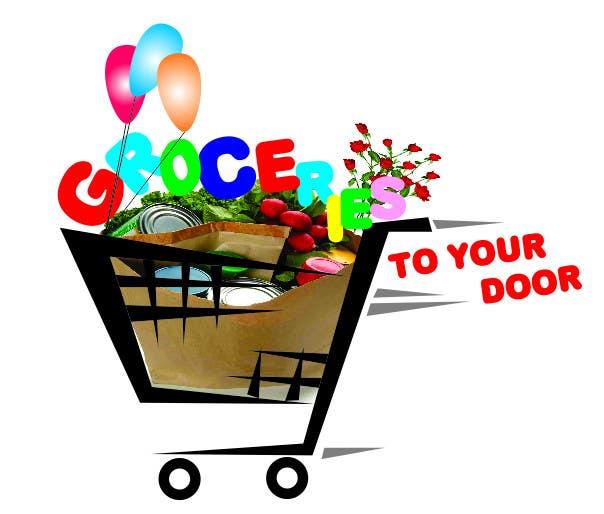 Entri Kontes #22 untukLogo Design for Groceries To Your Door