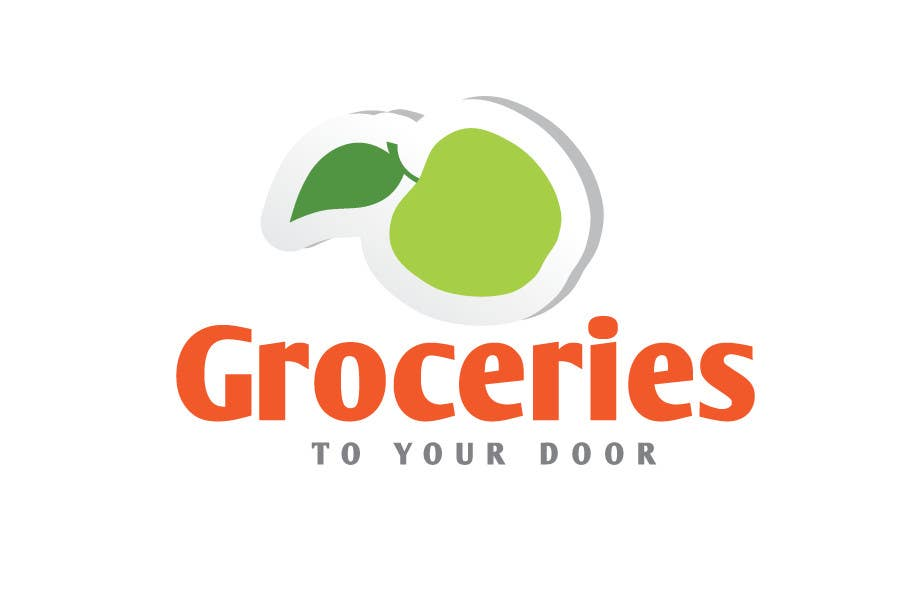 Entri Kontes #162 untukLogo Design for Groceries To Your Door