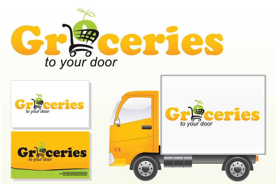 Entri Kontes #279 untukLogo Design for Groceries To Your Door