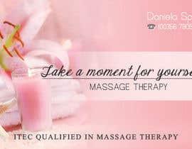 nº 23 pour Deisgn Business Cards for Massage Therapy par deaconucorina