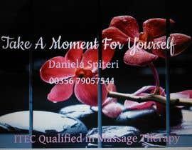 nº 20 pour Deisgn Business Cards for Massage Therapy par aimenn