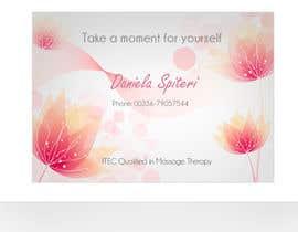 nº 14 pour Deisgn Business Cards for Massage Therapy par ro2020