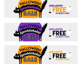 #71 para Design a Halloween Sale Banner por redundantdesigns