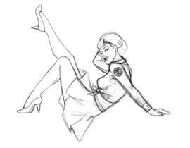 #2 for Pin Up Girl Design - Airline Style af tansha