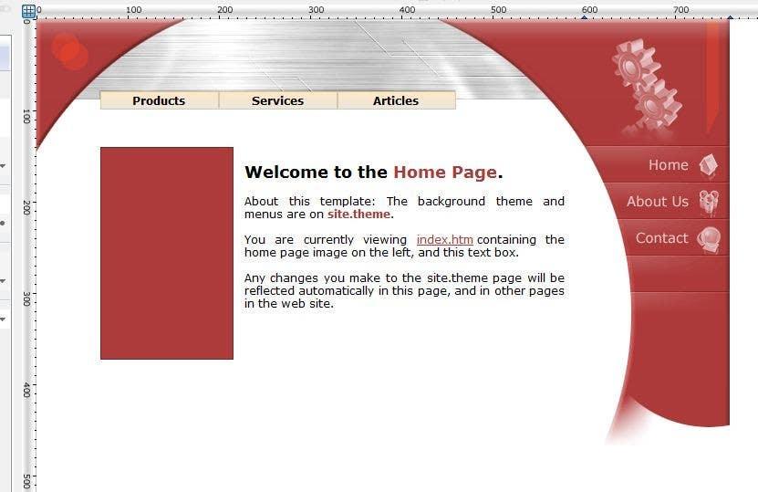 Inscrição nº                                         9                                      do Concurso para                                         Ontwerp een Website Mockup for mark / label