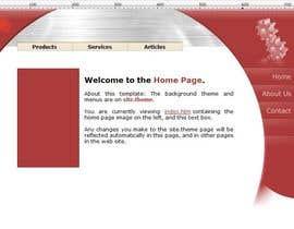 #9 para Ontwerp een Website Mockup for mark / label por pinkipilao