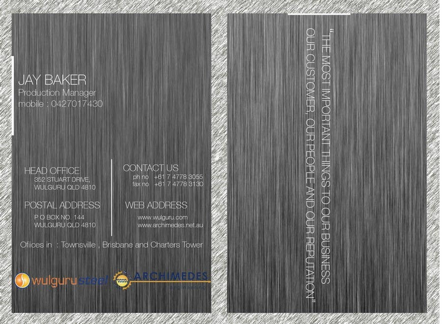 Great Business Cards Townsville Images - Business Card Ideas ...