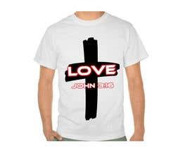 tranceflow92 tarafından Design a Christian T-Shirt - Contest 2 için no 27