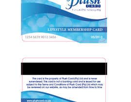 nº 19 pour Loyalty Card Redesign for Plush Card (Pty) Ltd par mishyroach