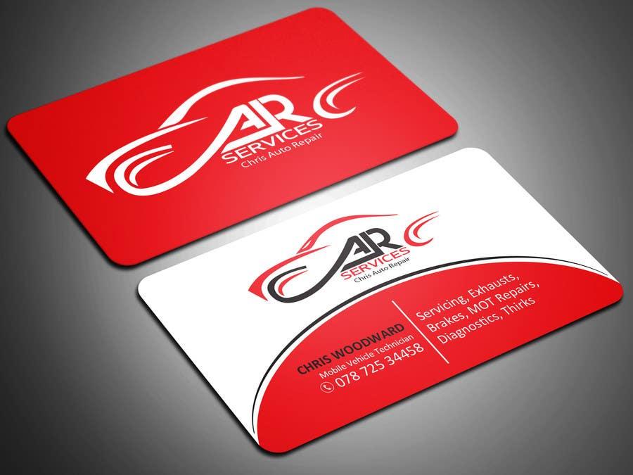 Entry #47 by sahasrabon for Design car mechanic business card ...