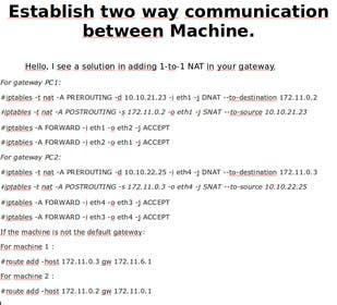 Image of                             Establish two way communication ...
