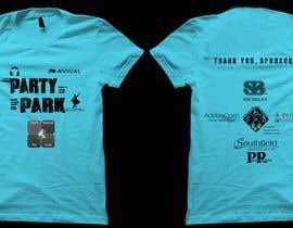 Aravindov tarafından Design a T-Shirt for Party in the Park için no 10
