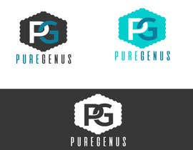 #224 for Want to be smarter?  PUREGENUS Logo Design by zuhaibamarkhand