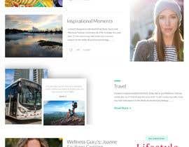 Nro 15 kilpailuun Website redesign käyttäjältä Dulalhossain4220