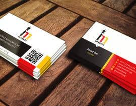 #70 untuk Business Card Design for Mevents (with letterhead optional) oleh ezesol