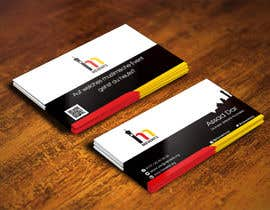 #56 untuk Business Card Design for Mevents (with letterhead optional) oleh IllusionG