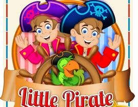 #112 untuk Logo Design for a baby shop - Nice pirates with a Cartoon style, fun and modern oleh richhwalsh
