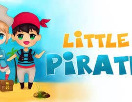 #130 untuk Logo Design for a baby shop - Nice pirates with a Cartoon style, fun and modern oleh Taiju