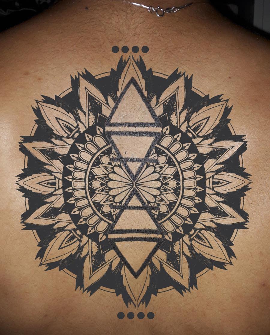 Entry 6 By Bethnielsen1960 For Lotus Flower Mandala Design Around