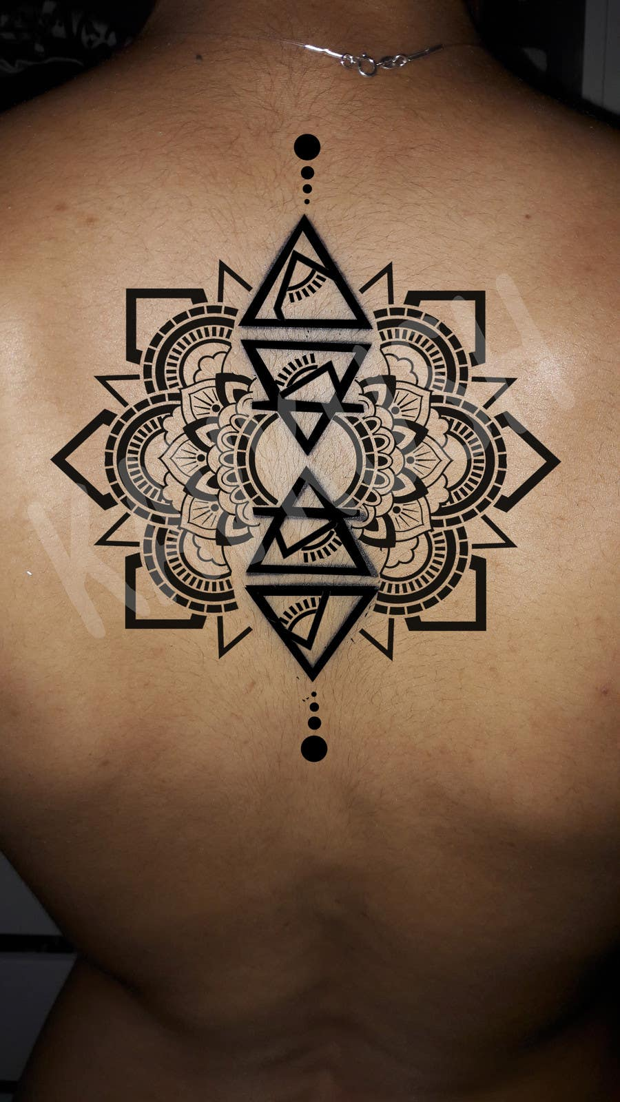 Entry 4 By Kavkush For Lotus Flower Mandala Design Around Existing