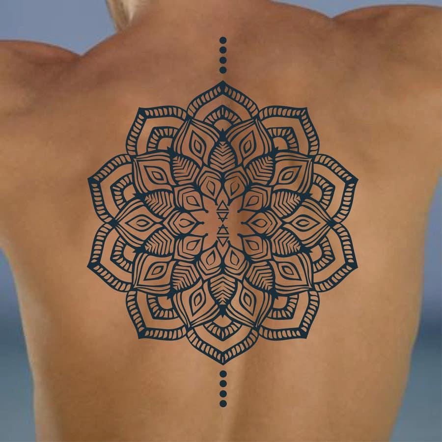 Entry 1 By Zahidf For Lotus Flower Mandala Design Around Existing