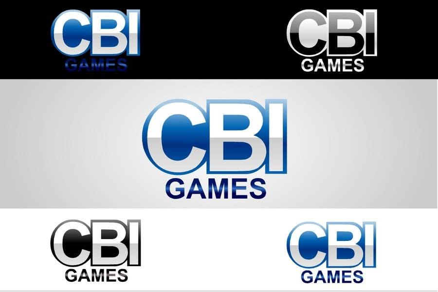 """Intrarea #159 pentru concursul """"Logo Design for CBI-Games.com"""""""
