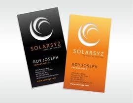 #23 para Business Card Design for SolarSyz por krismik