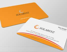 #127 para Business Card Design for SolarSyz por artleo