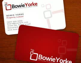 #161 for Logo Design for a law firm: Bowie Yorke af Anamh
