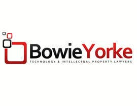 #84 para Logo Design for a law firm: Bowie Yorke por Anamh