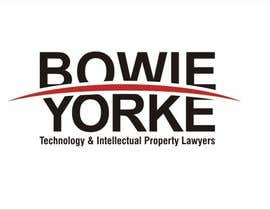 #106 para Logo Design for a law firm: Bowie Yorke por sharpminds40