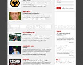nº 26 pour Website Design for FansOnline.net Ltd par creativeideas83