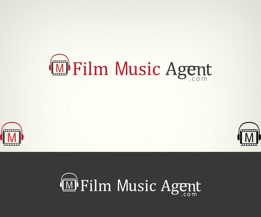 Конкурсная заявка №44 для Logo Design for Film Music Agent.com