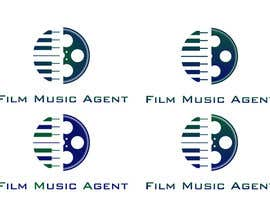 #58 pentru Logo Design for Film Music Agent.com de către SkyWalkerAL