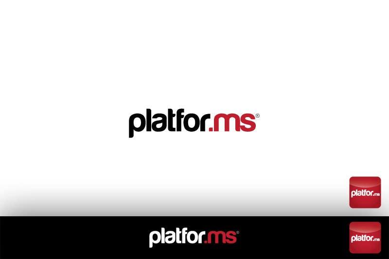 Proposition n°109 du concours Logo Design for Platfor.ms