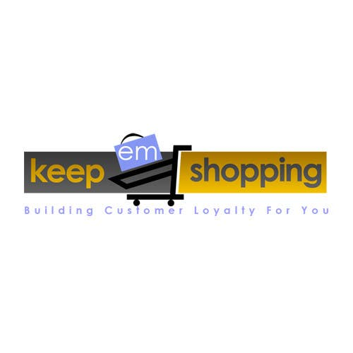 #76 for Logo Design for Keep em Shopping by UnivDesigners