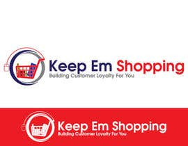 #93 for Logo Design for Keep em Shopping by winarto2012