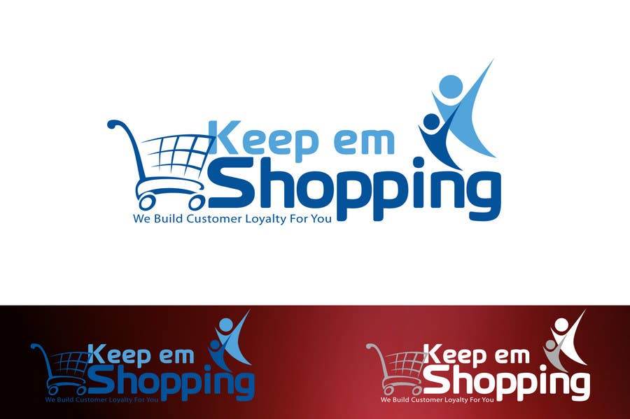 #61 for Logo Design for Keep em Shopping by aquariusstar